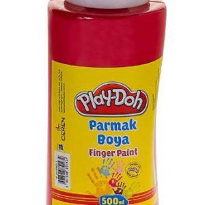 PLAY-DOH-OKUL GEREÇLERİ-Resim Gereçleri-Parmak Boyalar-Play-Doh 500 ML Parmak Boyası(Tüp)Kırmızı