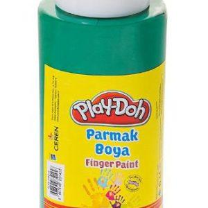 PLAY-DOH-OKUL GEREÇLERİ-Resim Gereçleri-Parmak Boyalar-Play-Doh 500 ML Parmak Boyası(Tüp)Yeşil