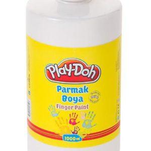 PLAY-DOH-OKUL GEREÇLERİ-Resim Gereçleri-Parmak Boyalar-Play-Doh Parmak Boya 1 Lt Beyaz