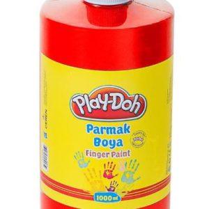 PLAY-DOH-OKUL GEREÇLERİ-Resim Gereçleri-Parmak Boyalar-Play-Doh Parmak Boya 1 Lt Kırmızı