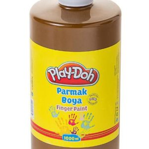 PLAY-DOH-OKUL GEREÇLERİ-Resim Gereçleri-Parmak Boyalar-Play-Doh Parmak Boya 1 Lt Kahverengi