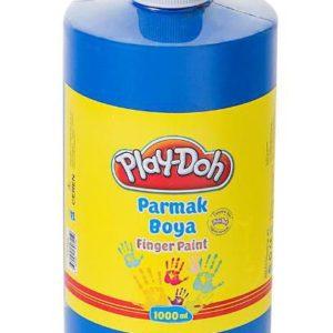 PLAY-DOH-OKUL GEREÇLERİ-Resim Gereçleri-Parmak Boyalar-Play-Doh Parmak Boya 1 Lt Mavi