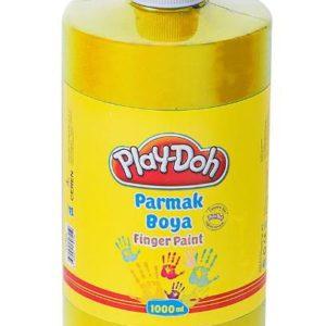 PLAY-DOH-OKUL GEREÇLERİ-Resim Gereçleri-Parmak Boyalar-Play-Doh Parmak Boya 1 Lt Sarı
