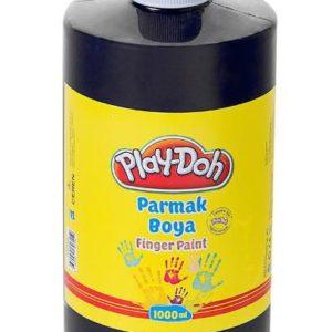 PLAY-DOH-OKUL GEREÇLERİ-Resim Gereçleri-Parmak Boyalar-Play-Doh Parmak Boya 1 Lt Siyah
