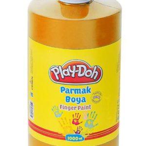 PLAY-DOH-OKUL GEREÇLERİ-Resim Gereçleri-Parmak Boyalar-Play-Doh Parmak Boya 1 Lt Turuncu