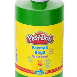 PLAY-DOH-OKUL GEREÇLERİ-Resim Gereçleri-Parmak Boyalar-Play-Doh Parmak Boya 1 Lt Yeşil