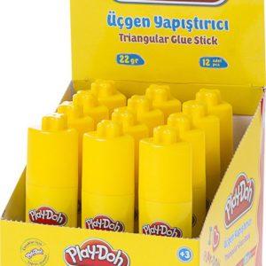 PLAY-DOH-OFİS MALZEMELERİ-Yapıştırıcılar-Stick Yapıştırıcılar-Play-doh Üçgen Stick Yapıştırıcı 22 gr