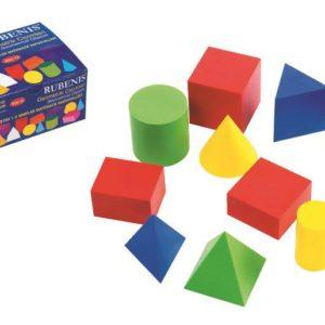 RUBENİS-OKUL GEREÇLERİ-Çizim Gereçleri-Matematik Gereçleri-Rubenis Geometrik Cisimler