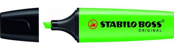 STABİLO-OFİS MALZEMELERİ-Yazı Gereçleri-Fosforlu Kalemler-Stabilo Boss Original İşaretleme Kalemi Yeşil
