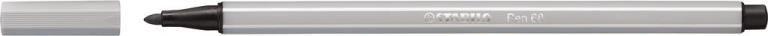 STABİLO-OFİS MALZEMELERİ-Yazı Gereçleri-Fineliner Kalemler-Stabilo Pen 68 Keçeli Kalem Açık Gri