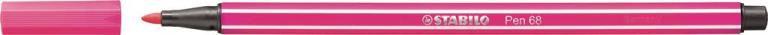 STABİLO-OFİS MALZEMELERİ-Yazı Gereçleri-Fineliner Kalemler-Stabilo Pen 68 Keçeli Kalem Pembe