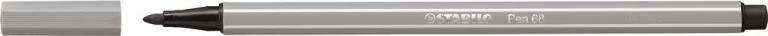 STABİLO-OFİS MALZEMELERİ-Yazı Gereçleri-Fineliner Kalemler-Stabilo Pen 68 Keçeli Kalem Soğuk Gri
