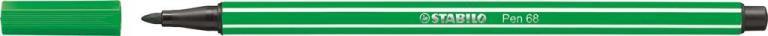 STABİLO-OFİS MALZEMELERİ-Yazı Gereçleri-Fineliner Kalemler-Stabilo Pen 68 Keçeli Kalem Yeşil
