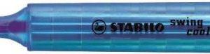 STABİLO-OFİS MALZEMELERİ-Yazı Gereçleri-Fosforlu Kalemler-Stabilo Swing Cool İşaretleme Kalemi Koyu Mavi