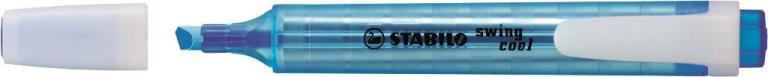 STABİLO-OFİS MALZEMELERİ-Yazı Gereçleri-Fosforlu Kalemler-Stabilo Swing Cool İşaretleme Kalemi Mavi
