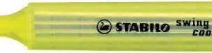 STABİLO-OFİS MALZEMELERİ-Yazı Gereçleri-Fosforlu Kalemler-Stabilo Swing Cool İşaretleme Kalemi Sarı