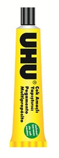 UHU-OFİS MALZEMELERİ-Yapıştırıcılar-Sıvı Yapıştırıcılar-Uhu No.12 (20 Ml) - Solventsiz