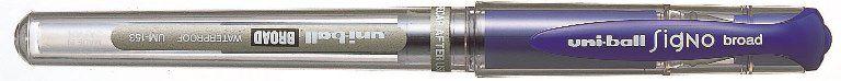 Uniball-OFİS MALZEMELERİ-Yazı Gereçleri-Jel Ve Simli Kalemler-Uniball Signo Broad 1.0 İmza Kalemi Mavi