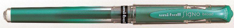 Uniball-OFİS MALZEMELERİ-Yazı Gereçleri-Jel Ve Simli Kalemler-Uniball Signo Broad 1.0 İmza Kalemi Yeşil