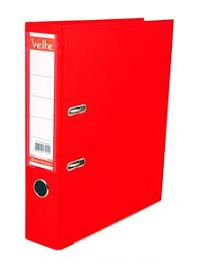 VELTE-OFİS MALZEMELERİ-Dosyalama & Arşivleme-Plastik Geniş Klasörler-Velte Plastik Geniş Klasör Kırmızı