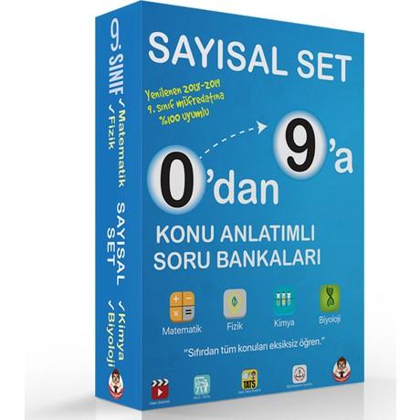 Tonguç Yayınları 0'dan 9'a Konu Anlatımlı Soru Bankası Sayısal Set