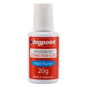 Bigpoint-OFİS MALZEMELERİ-Masa Üstü Gereçleri-Sıvı Siliciler-Bigpoint Sıvı Silici 20 ml