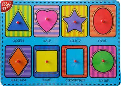 BU-BU-OYUNCAKLAR-Puzzle Çeşitleri--Bu-Bu Ahşap Puzzle Şekiller 30x21