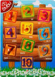 BU-BU-OYUNCAKLAR-Puzzle Çeşitleri--Bu-Bu Ahşap Puzzle Sayı Tahtası
