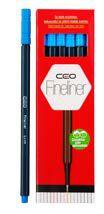 CEO-OFİS MALZEMELERİ-Yazı Gereçleri-Fineliner Kalemler-Ceo Fineliner 12'li Kutu Mavi 12