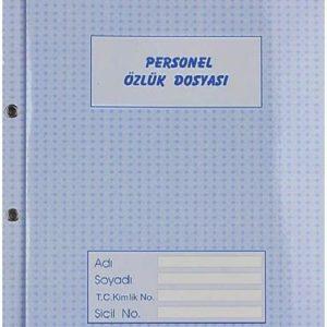 DİLMAN-KAĞIT ÜRÜNLERİ-Resmi / Ticari Evraklar-Personel Özlük Dosyaları-Dilman Personel Özlük Dosyası