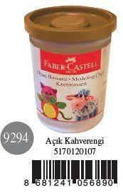 Faber-Castell-OYUNCAKLAR-Oyun Hamurları--Faber-Castell Su Bazlı Oyun Hamuru Açık Kahverengi