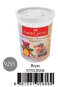 Faber-Castell-OYUNCAKLAR-Oyun Hamurları--Faber-Castell Su Bazlı Oyun Hamuru Beyaz