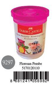 Faber-Castell-OYUNCAKLAR-Oyun Hamurları--Faber-Castell Su Bazlı Oyun Hamuru Floresan Pembe