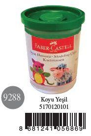 Faber-Castell-OYUNCAKLAR-Oyun Hamurları--Faber-Castell Su Bazlı Oyun Hamuru Koyu Yeşil