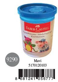 Faber-Castell-OYUNCAKLAR-Oyun Hamurları--Faber-Castell Su Bazlı Oyun Hamuru Mavi