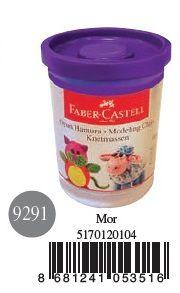 Faber-Castell-OYUNCAKLAR-Oyun Hamurları--Faber-Castell Su Bazlı Oyun Hamuru Mor