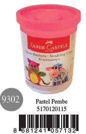 Faber-Castell-OYUNCAKLAR-Oyun Hamurları--Faber-Castell Su Bazlı Oyun Hamuru Pastel Pembe