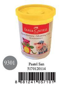 Faber-Castell-OYUNCAKLAR-Oyun Hamurları--Faber-Castell Su Bazlı Oyun Hamuru Pastel Sarı