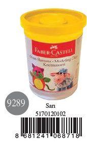 Faber-Castell-OYUNCAKLAR-Oyun Hamurları--Faber-Castell Su Bazlı Oyun Hamuru Sarı
