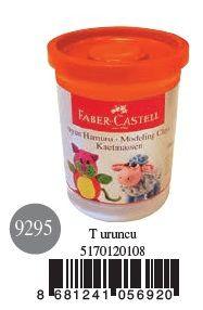 Faber-Castell-OYUNCAKLAR-Oyun Hamurları--Faber-Castell Su Bazlı Oyun Hamuru Turuncu