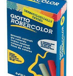 FİLA-OFİS MALZEMELERİ-Yazı Gereçleri-Tebeşirler-Gıotto Robercolor Karışık Renkli Tebeşir 10Lu