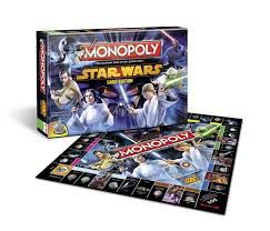 HASBRO-OYUNCAKLAR-Oyunlar--Hasbro Monopoly Star Wars