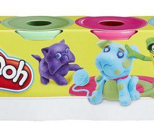 Hasbro-OYUNCAKLAR-Oyun Hamurları--Hasbro Play-Doh Oyun Hamuru 4 Lü Prm. 448 Gr.