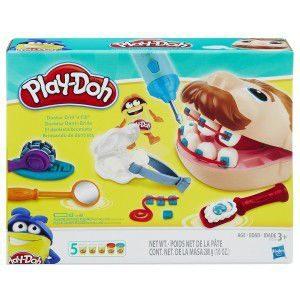 Hasbro-OYUNCAKLAR-Oyun Hamurları--Hasbro Play-Doh Yeni Dişçi Seti