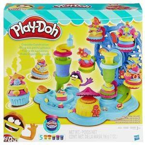 HASBRO-OYUNCAKLAR-Eğitici Oyuncaklar--Hasbro Sweet Shoppe Cupcake Festivali B1855