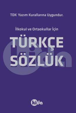 KİDA-KİTAPLAR-Başvuru Kitapları-Kida Yayınları Komisyon Grubu-Kida Türkçe Sözlük