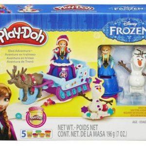 HASBRO-OYUNCAKLAR-Eğitici Oyuncaklar--Play-Doh Disney Frozen Oyun Seti B1860