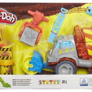 HASBRO-OYUNCAKLAR-Eğitici Oyuncaklar--Play-Doh Work Zone Çimento Kamyonum B1858