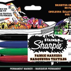 SHARPİE-OFİS MALZEMELERİ-Yazı Gereçleri-Tekstil Kalemleri-SHARPIE STAINED TEKSTİL MARKÖR