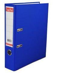VELTE-OFİS MALZEMELERİ-Dosyalama & Arşivleme-Plastik Dar Klasörler-Velte Plastik Dar Klasör Mavi